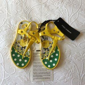 Other - Dolce & Gabbana Girls Sandals